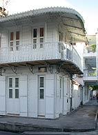 Guadeloupe et maisons créoles
